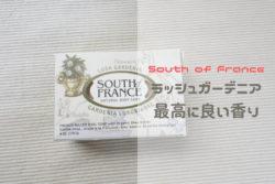 iHerbで買えるおすすめの石鹸はSouth of Franceのラッシュガーデニア