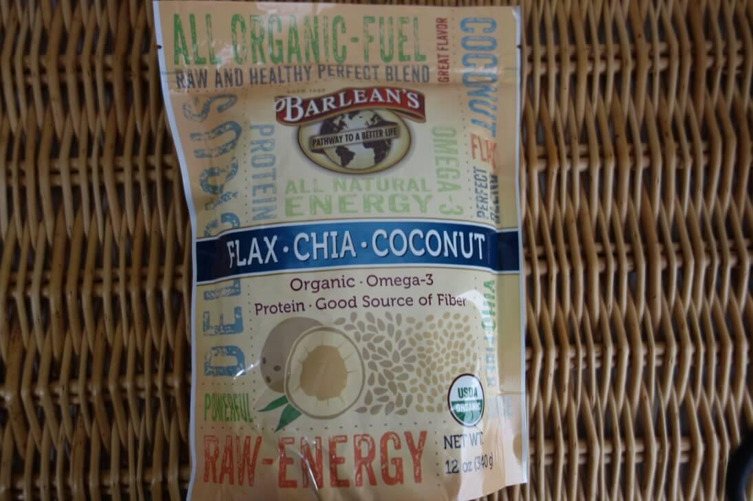 Barlean's, Flax-Chia-Coconut Blend
