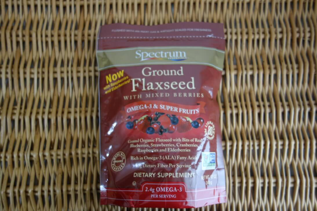Spectrum Essentials, Ground Flaxseed with Mixed Berries-iherb