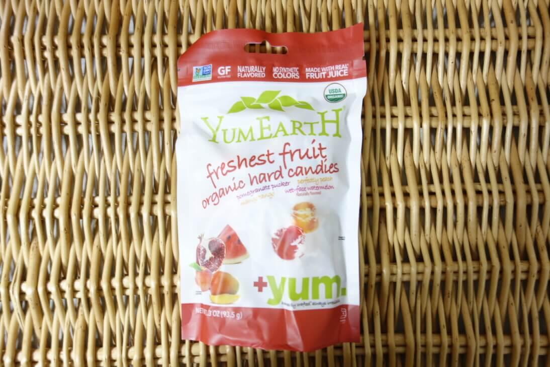 YumEarth, オーガニック・キャンディドロップス、4種類の味、3.3 oz (93.5 g) (1)