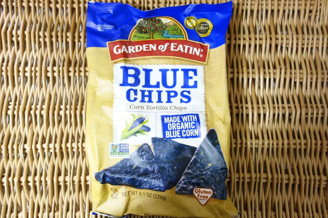 Garden of Eatin', Corn Tortilla Chips, Blue Chips, 8.1 oz (229 g) (2)