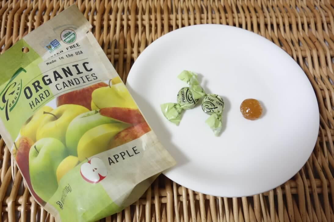 【アイハーブのお菓子】グルテンフリーのオーガニックキャンディは素朴な味で甘すぎない