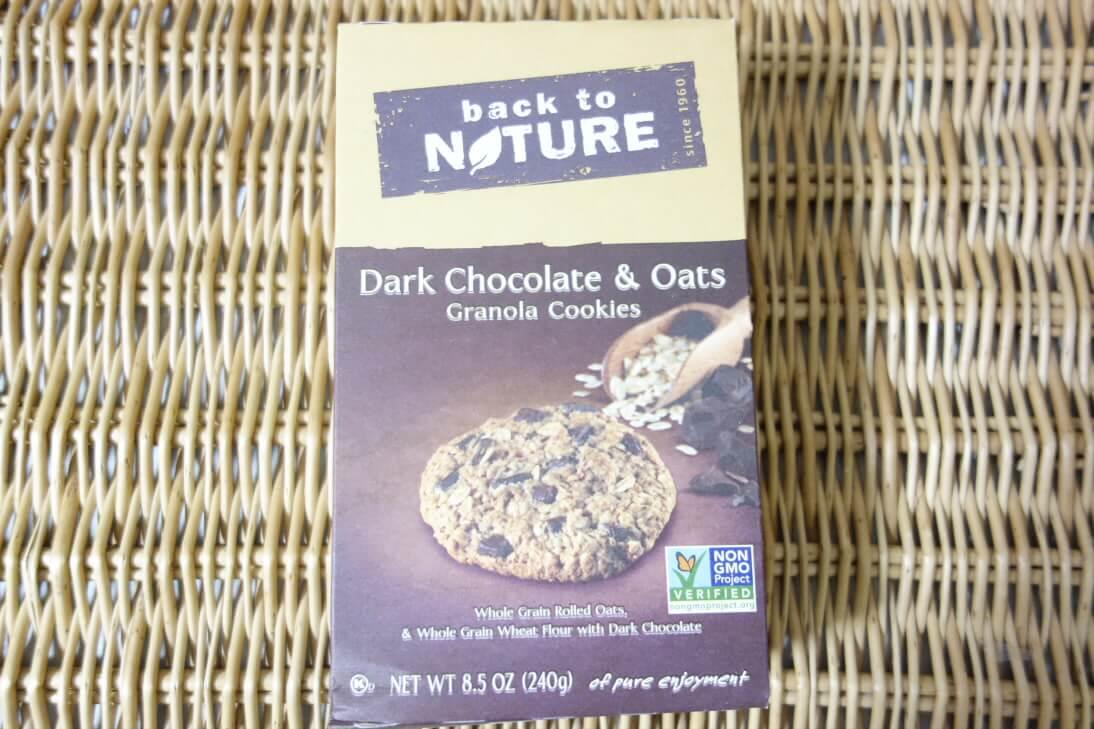 Back to Natureのダークチョコレートとオーツグラノーラクッキー
