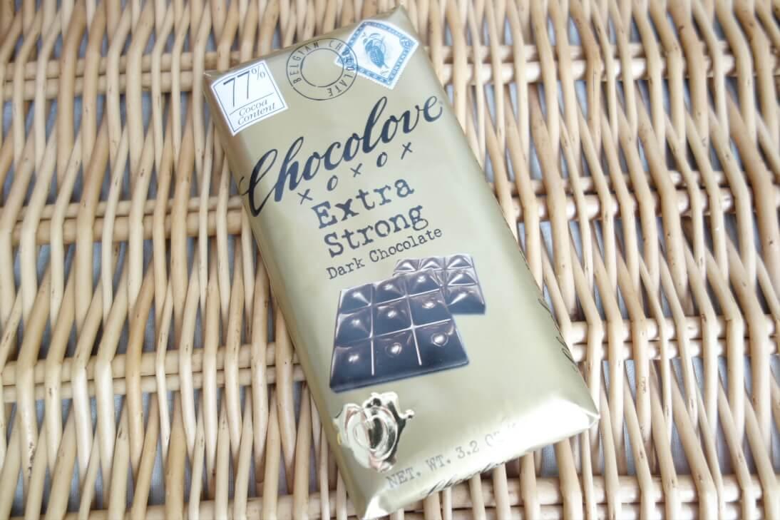 【アイハーブのチョコ】Chocoloveのエキストラ・ストロング・ダークチョコレート