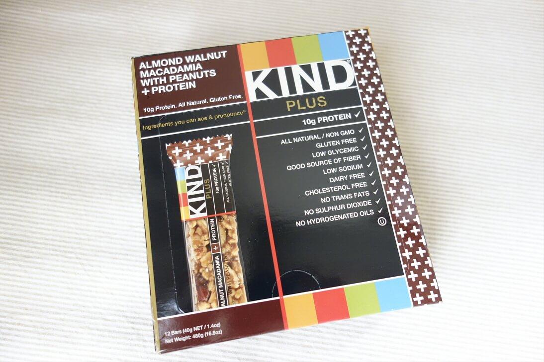 KINDのナッツバーはプロテイン入りで美味しくておすすめ!