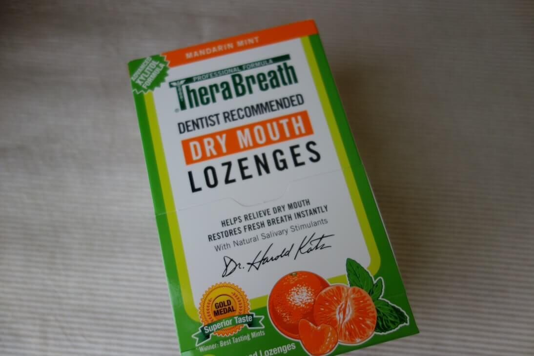 TheraBreath, お口を潤すフレッシュブレス トローチ