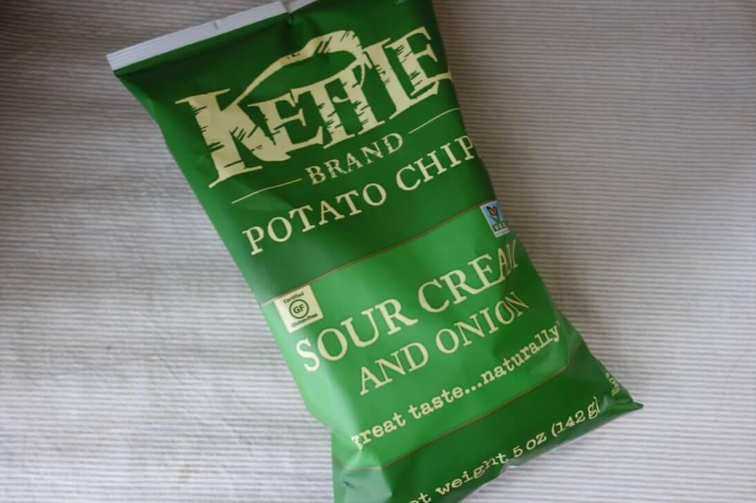 Kettle Foods, ポテトチップス、サワークリーム&オニオン