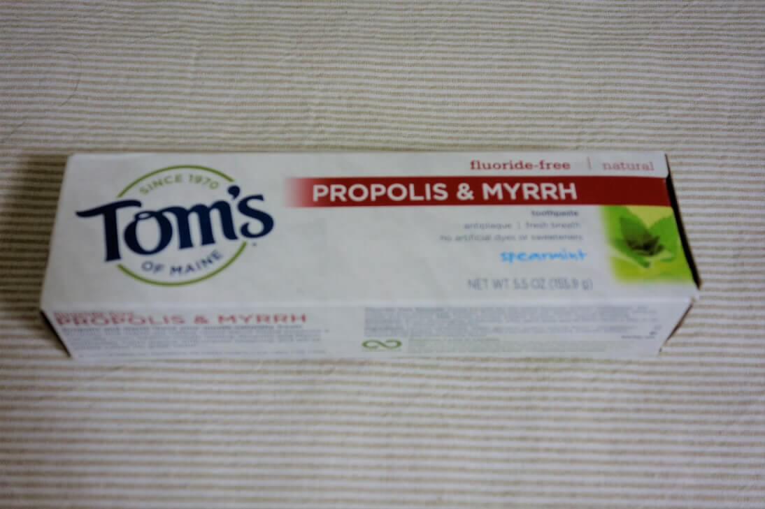 TOMS 歯磨き粉