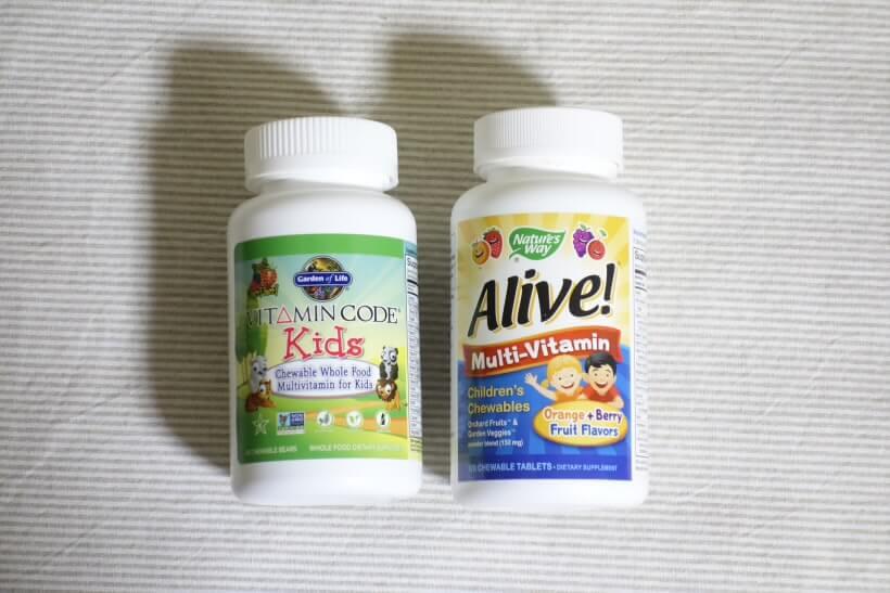 子供用マルチビタミン