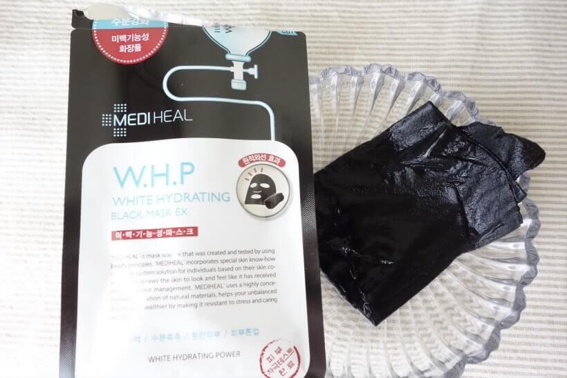 メディヒールのブラックマスク