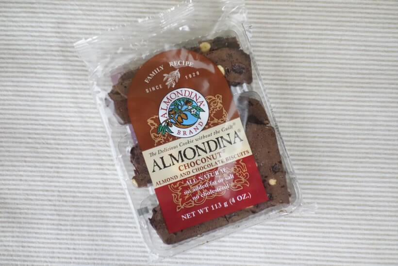 Almondina, Choconut、アーモンドとチョコレートのビスケット (2)