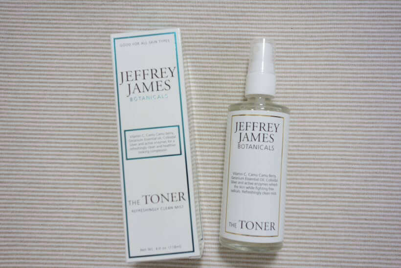Jeffrey James Botanicals, ザ・トナー、リフレッシュ・クリーンミスト (3)
