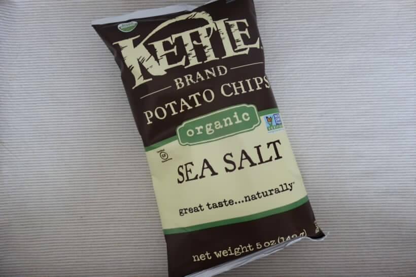 Kettle Foods, オーガニックポテトチップス、海塩