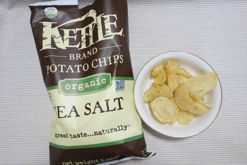 Kettle Foods, オーガニックポテトチップス、海塩 (2)