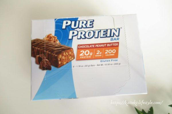 Pure Proteinプロテインバー ピーナッツチョコレート